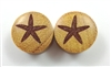 "Pair of ""Starfish"" Organic Plugs"