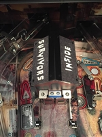 Survivors Inside Prison MOD for Stern's The Walking Dead pinball machine