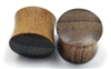 Pair of Teak Wood Plugs