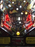 Slingshot & Return Lane Protector Set for Stern's The Walking Dead pinball machine in Translucent Red