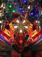 Slingshot & Return Lane Protector Set for Stern's Spider-Man pinball machine (5 Piece Set)