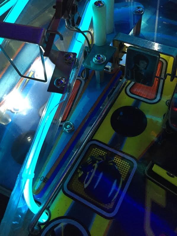 Slingshot & Return Lane Protector Set for Stern's TRON LEGACY (5 Piece Set)