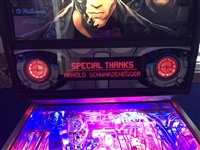 Red DMD Filter for Terminator 2: Judgement Day pinball machine