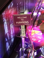 Welcome To Hawkins Sign MOD for Stern's Stranger Things