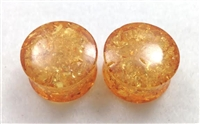 Synthetic Amber Saddle Plugs