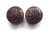 "Pair of ""Like A Boss"" Organic Plugs"