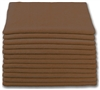 Microfiber Cloth - Terry 16 x 16 300gsm - Brown Bulk Case of 204
