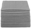 Microfiber Cloth - Terry 16 x 16 300gsm - Gray Bulk Case of 204