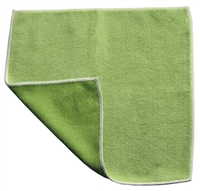 Microfiber Cloth - Combination Scrubber - 12 x 12 Green - Bulk Case of 120