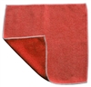 Microfiber Cloth - Combination Scrubber - 12 x 12 Red - Bulk Case of 120
