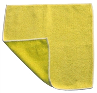 Microfiber Cloth - Combination Scrubber - 12 x 12 Yellow - Bulk Case of 120