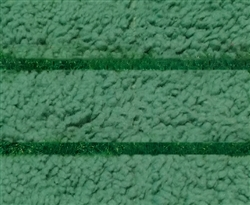 Microfiber Mop Pad - Green Color Coded Scrubber - Case of 100