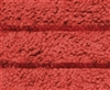Microfiber Mop Pad - Red Color Coded Scrubber - Case of 100