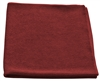 Microfiber Cloth - All Purpose Nip Style - Burgundy Bulk Case of 204