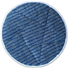 "<!cc>Microfiber Carpet Cleaning Bonnet Pad-17"" Gray w/Scrub Strips - Bulk Case (20 Bonnets/Case)"