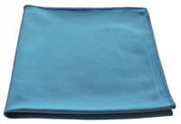 Microfiber Cloth - Slick Glass - 16 x 16 Blue - Bulk Case of 204