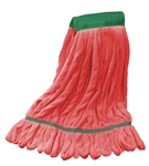 Microfiber Wet Mop - Red - Medium 5 Inch Band - Case of 35