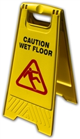 Wet Floor Caution Sign - Case of 10