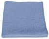 Microfiber Cloth - HoneyComb - Blue - Case of 204