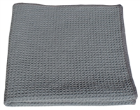 Microfiber Cloth - HoneyComb - Gray - Case of 204