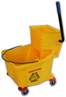 Mop Bucket & Wringer Combination Set