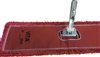Microfiber Dust Mop - Industrial Closed Loop - Red 72 Inch