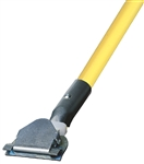 Dust Mop Handle - Fiberglass 60 Inch - Clip On Style - Dozen