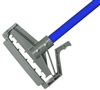 <!dd>Wet Mop Handle- BLUE Fiberglass - Quick Release - Dozen  (12 Handles/Case)