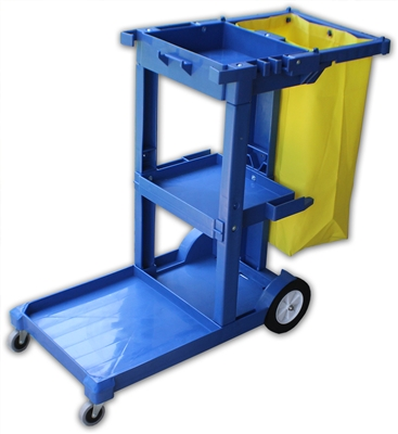 Janitor Cart - Blue