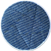 "<!a>Microfiber Carpet Cleaning Bonnet Pad-13"" Gray w/Scrub Strips"