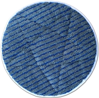"<!h><b>17"" GRAY</b> Microfiber <b>CARPET BONNET</b> w/Scrub Strips"