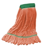 Microfiber Wet Mop - Orange Medium Wide