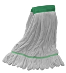 Microfiber Wet Mop - White Medium Wide