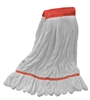 Microfiber Wet Mop - White Large Wide