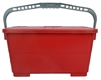 Microfiber Mop - Recharging Bucket Red
