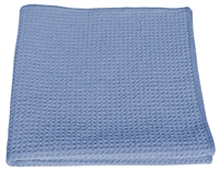 Microfiber-Cloth-Compressed-Waffle-Weave-16-x-16-Blue