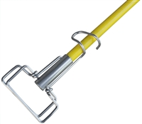 <!aa>Wet Mop Handle- Fiberglass Wire Clamp Style - Dozen (12 Handles/Case)
