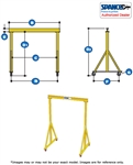 F4000  - Spanco Steel Gantry - Fixed Height