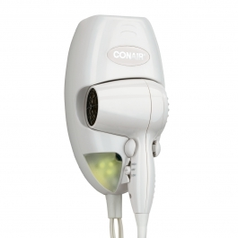 CONAIR 134W Wall Mount 1,600-Watt Compact Hair Dry