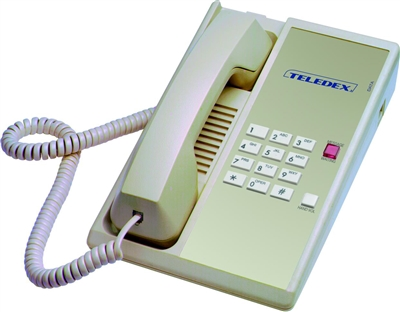 Teledex Diamond Hotel Hospitality Telephone Ash DIA65309
