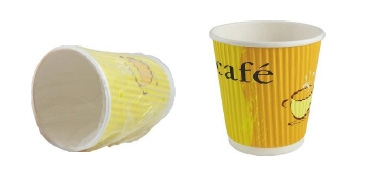 Un-Wrapped Ripple Cup