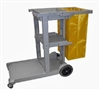 Janitor Cleaning Cart with Bag
