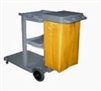 Janitor Cleaning Cart with Lid