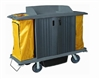 House Keeping Cart  with Doors