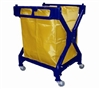 Laundry Cart X Shape