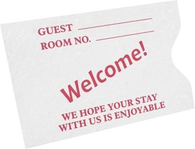 Hotel Key Cards Envelope - Non Logo - 500 Pack