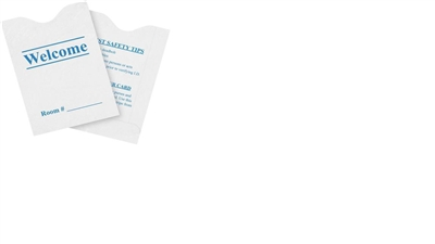 Blue Key Cards Envelope - Non Logo - 500 Pack