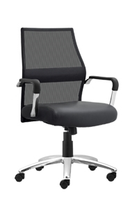 Trevi Task Chair with Leather Seat