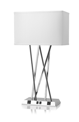 Breeze Hotel Guest Room Twin Table Lamp