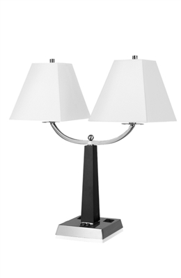 City Light Twin Table Lamp